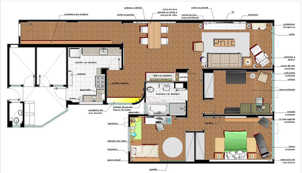 1- planta baixa de layout
