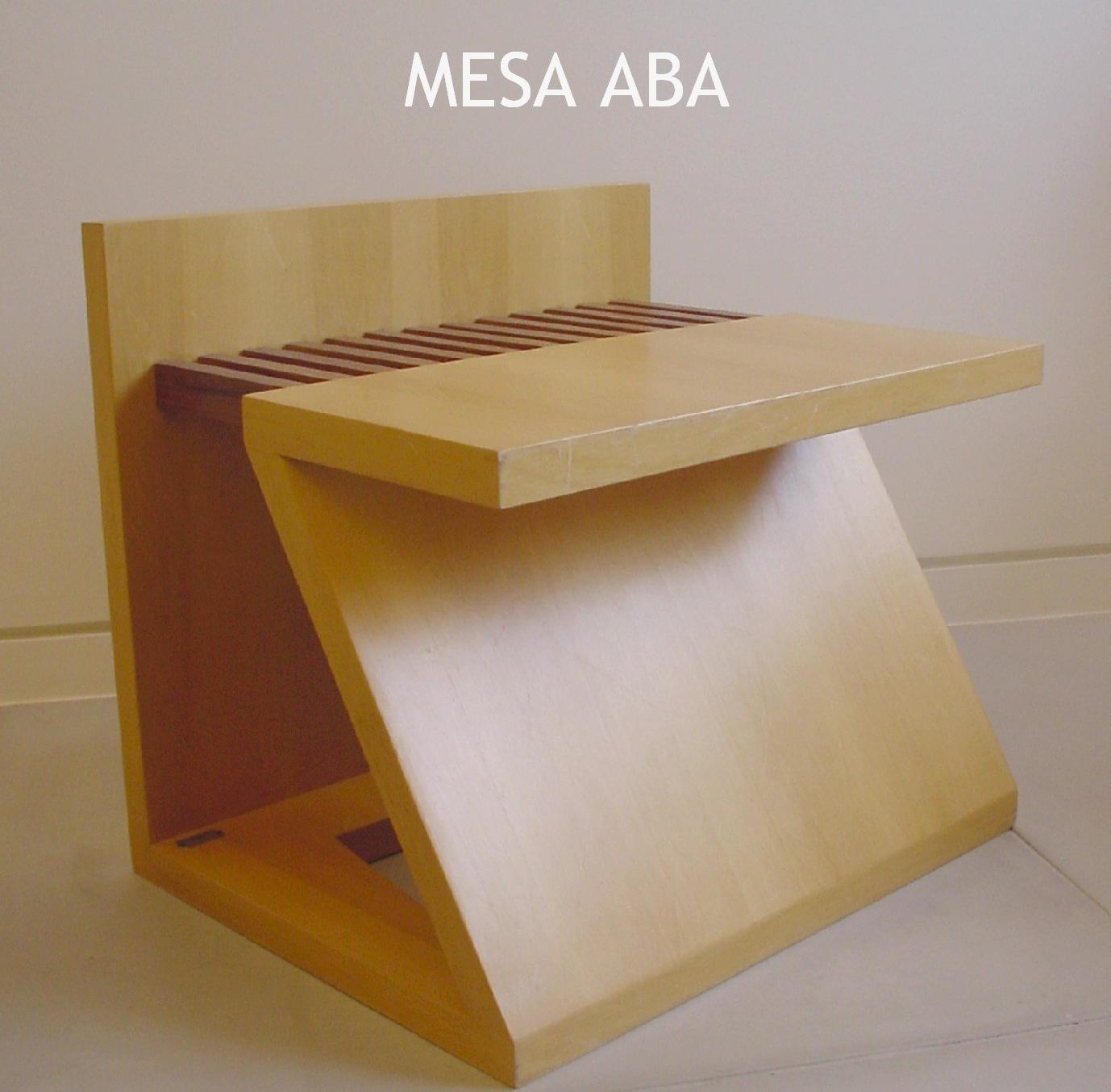 Folder mesa Aba