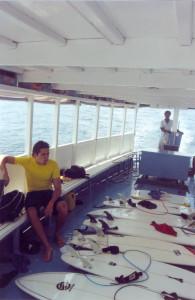 barco maldivas