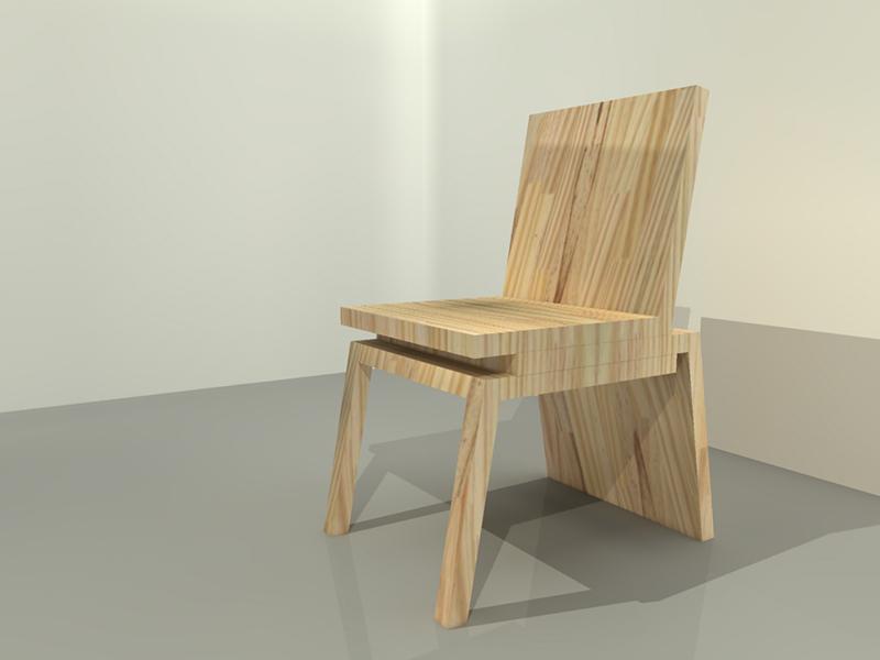 cadeira três peças 01