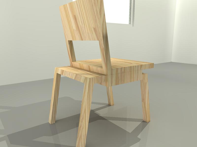 cadeira três peças vazada 02